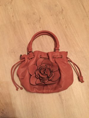 Carry Bag cognac-coloured