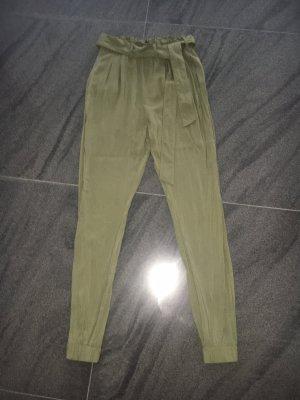 Pantalón de tubo caqui