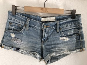 Abercrombie & Fitch Short moulant bleu clair