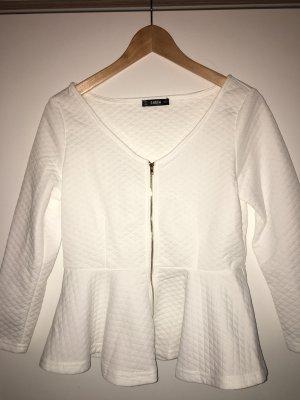 SheIn Blouse Jacket white