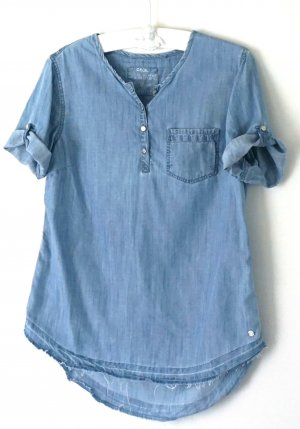 Süße Jeans Bluse Cecil Gr. S