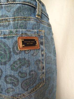 Michael Kors Jeans slim bleuet coton