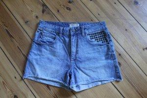 Süße Jeans Shorts Selected femme Gr. 29 mit Nieten