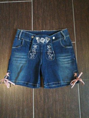 süße Jeanslederhose