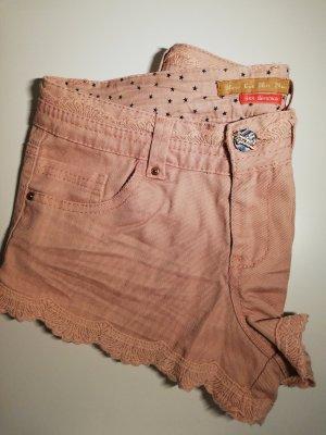 Bershka Pantalón corto de tela vaquera multicolor