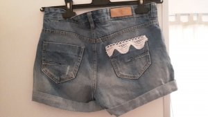 Vero Moda Denim Shorts dark blue
