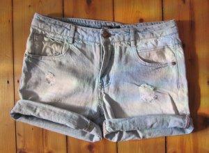 Süße Jenas-Shorts von ONLY Helle Waschung Größe 28