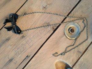 Collana nero-sabbia Metallo