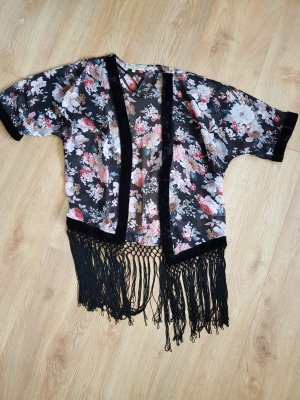 Süße Kimono-Bluse mit Fransen