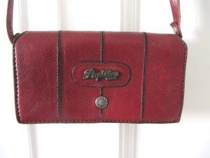 Süße kleine 70er Tasche Pappilon Paris Boreaux-Rot
