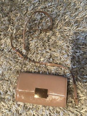 Süße kleine rosa/beige Tasche