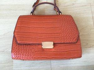 Süße kleine Tasche von Zara, orange