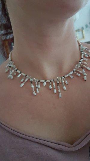 süße kurze Perlenkette, Kette, Perlen