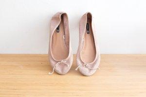 Süße Lederballerinas von H&M Blogger