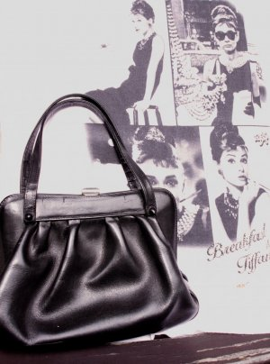 Carry Bag black leather