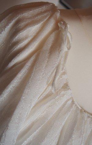 Armani Exchange Carmen blouse wolwit Cupro