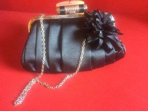 Süße Marc Picard Abendtasche schwarz Blume