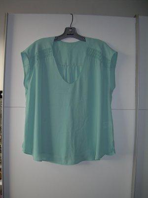 süße mint-türkise Bluse von H&M Gr. L 42 Shirt