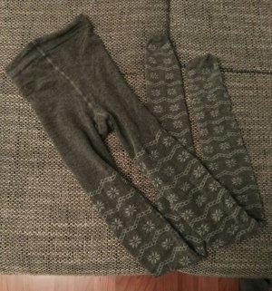 Leggings gris oscuro-gris claro