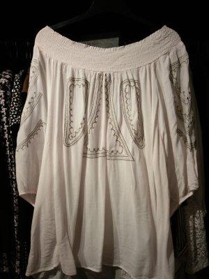 süße Off-Shoulder Bluse, ibiza style, sommer, schick