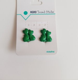 Earclip forest green