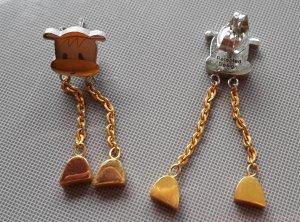 süße Ohrhänger aus Edelstahl/Gold vom Juwelier