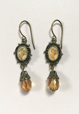 Süße Ohrringe Ohrhänger Stein Motiv