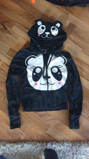 süße Pandajacke