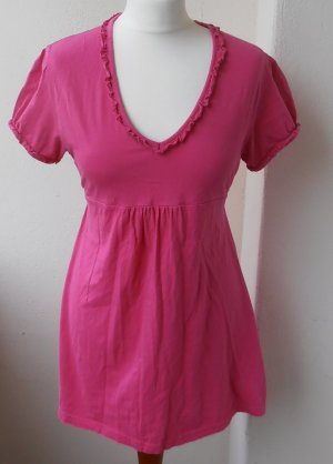Süße, pinkfarbene Baumwoll-Tunika, E.B. Design, Gr.XL