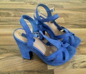 Atmosphere Platform Pumps neon blue