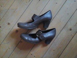 5th Avenue Sandalo con cinturino marrone-grigio