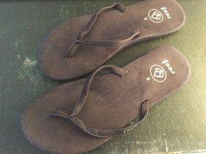 süße Reef - Flip Flops aus Jeans, Gr.40 / 9