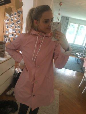 Süße Regenjacke in rosa