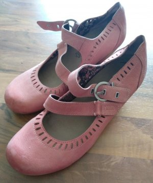 Tamaris Backless Pumps pink