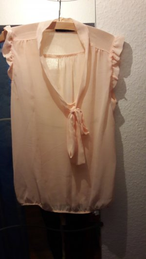 Süße rosa verspielte Bluse