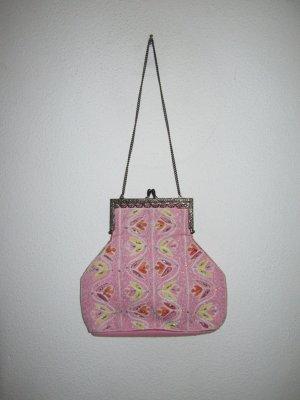 süße rosa Vintage Tasche