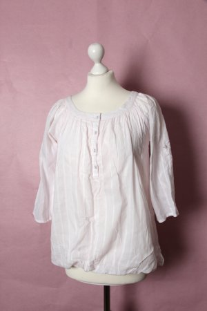 Süße rosane Bluse mit Streifen von Pimkie