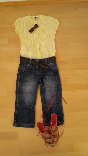 H&M Short Sleeved Blouse primrose