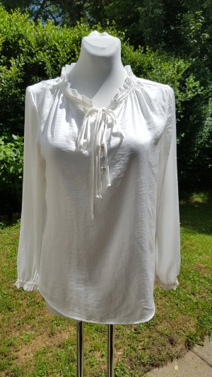 s.Oliver Ruffled Blouse natural white