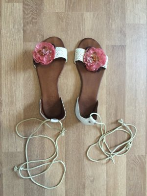 Süße Sandalen, Gr. 39/40, nur 2x getragen