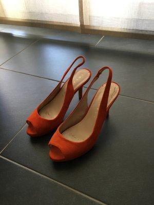 Süße Sandalen von Lolo Crur Gr. 37 orange