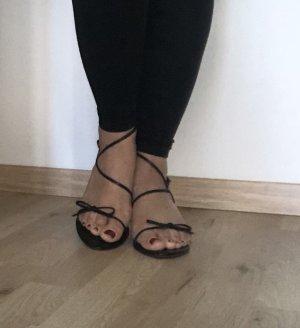 Süße Sandaletten mit Schleife Gr 38