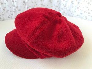Süße Schieber-Mütze in Rot, One Size