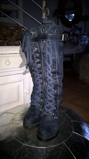 Graceland Lace-up Boots blue-dark blue