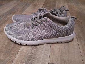 Suesse schuhe sneakers turnschuhe grau gr. 38