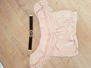 Süße Schulterfreie Bluse