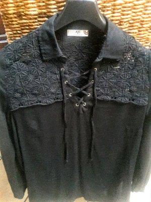 AJC Blusa de manga larga negro