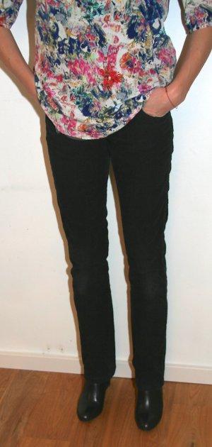 Süße schwarze Cord Jeans