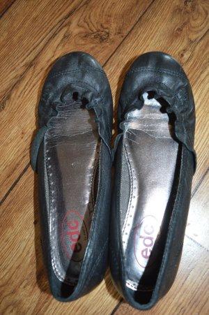 edc Ballerinas with Toecap black