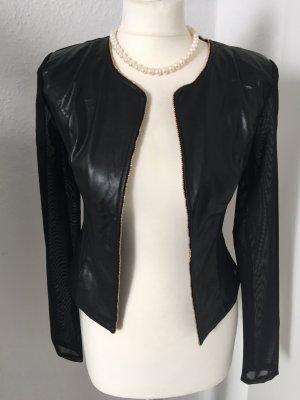 Süße schwarze Jacke, Gr. S/M